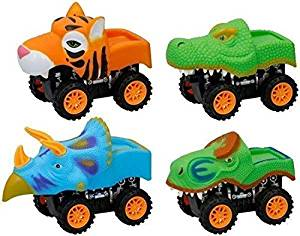 animal cars friction dino car toy for kids