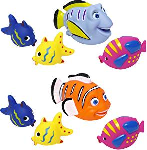 bath fishes bath toys