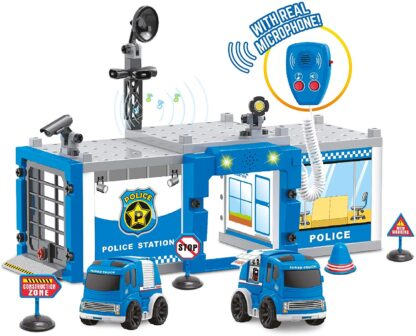 Toy Police Station For Kids