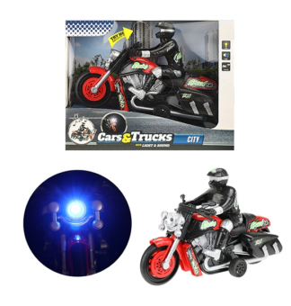toy motorbike with light and sound