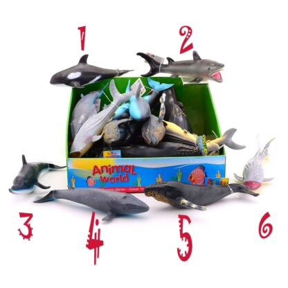 jumbo toy sea animal figures