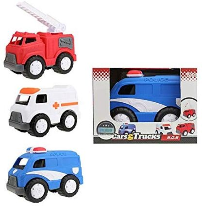 Emergency vehicles for kids