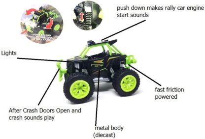 off road toy truck