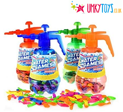 water balloons with pump