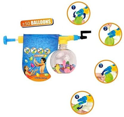 water balloon with pump