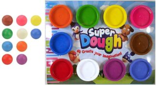 colourful dough for kids