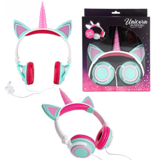 Girls Unicorn headphones